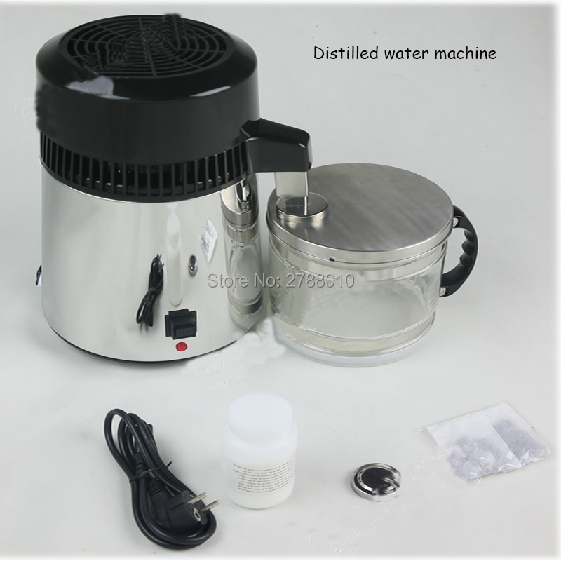 Water distiller 110V/220V 304 stainless steel distilled water machine water filter equipment 1L/H distilled machine 500l h kitchen water filter machine with 304 stainless steel shell and food grade ultrafiltration membrane for water treatment