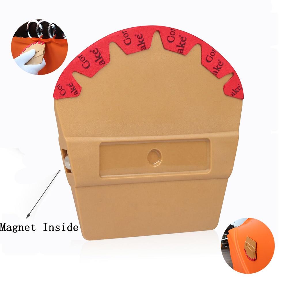 EHDIS Vinyl Magnet Microfiber Felt Squeegee Carbon Film Magnetic Wrap Scraper Car Styling Sticker Accessories Window Tints Tool