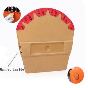 Image 1 - EHDIS Vinyl Magnet Mikrofaser Filz Rakel Carbon Film Magnetische Wrap Schaber Auto Styling Aufkleber Zubehör Fenster Tönungen Werkzeug