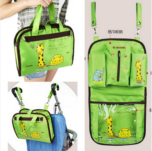 5 Colors High Quality Baby car Portable hanging bag