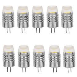 10 шт. G4 светодио дный 12 В 1,5 Вт удара 120LM теплый белый/белый bombada светодио дный лампа G4 12 В для домашнего освещения Бесплатная доставка