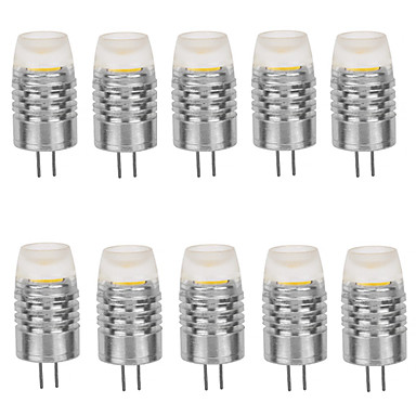 10pcs G4 <font><b>LED</b></font> <font><b>12V</b></font> 1.5W COB 120LM Warm White/White Bombada <font><b>LED</b></font> Lamp Bulb G4 <font><b>12V</b></font> For Home Lighting Free Shipping image