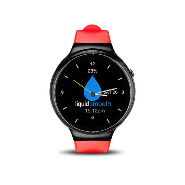 red Smartwatch android 5c649caf6dab4