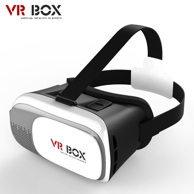 """Head Mount Plastic VR BOX 2.0 Version Virtual Reality Glasses Google Cardboard for 3.5"""" - 6.0"""" Smart Phone and"""