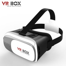 Head Mount Plastic VR BOX 2.0 Version Virtual Reality Glasses Google Cardboard for 3.5″ – 6.0″ Smart Phone and