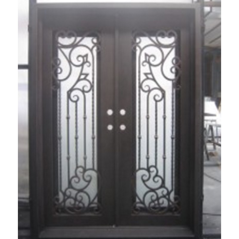 Hench 100% Steels Metal Iron Elegant Front Entry Doors