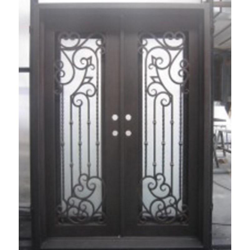 Hench 100% Steels Metal Iron Elegant Front Entry Doors
