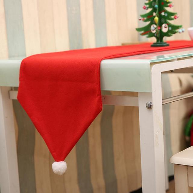 34x176cm christmas table runner mat tablecloth christmas flag non