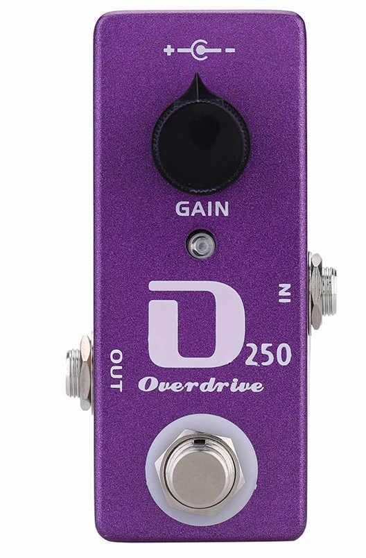Moskyaudio Mini Guitarra efecto Pedal Overdrive, compresor, distorsión, boost, pedales de amortiguación