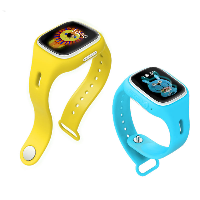 Best gift for kids smart watch A6 touch screen GPS and WIFI location watch for Google
