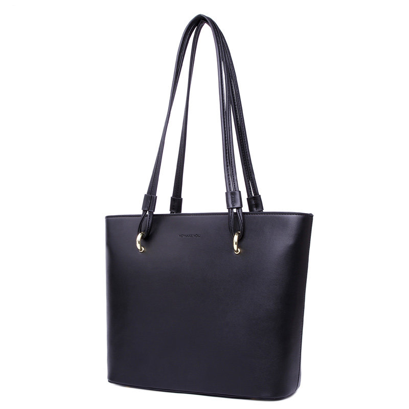 Large Capacity Tote Bag Ladies Simple Casual Hand Bag Japan Korean Style Durable Shoulder Bag Lady