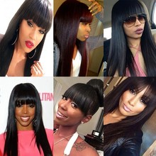 Best Virgin Brazilian Full Lace Human Hair Wigs Silky Straight Human Hair Lace Front Wigs Glueless Lace Wig with Baby Hair