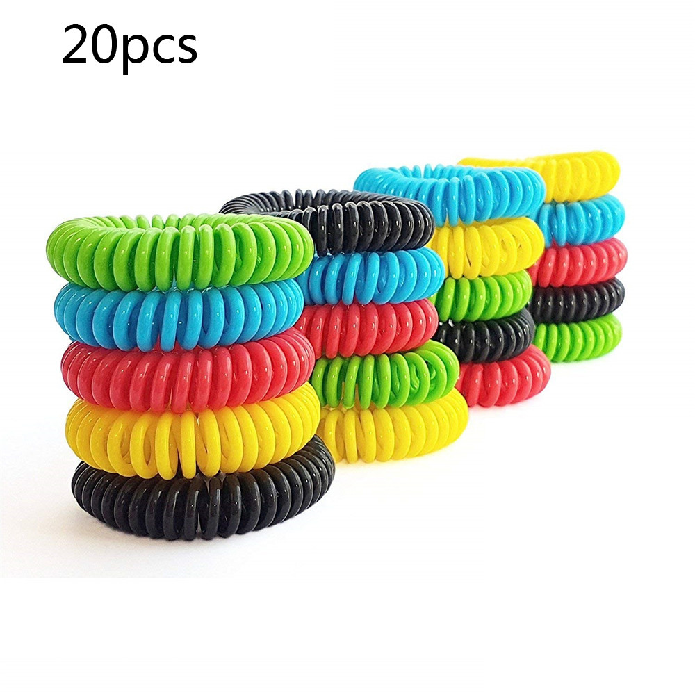 Household 20pcs Mosquito Repellent Bracelets Natural Repellent Wristbands Convenient And  Practical Household Hot Sale Product