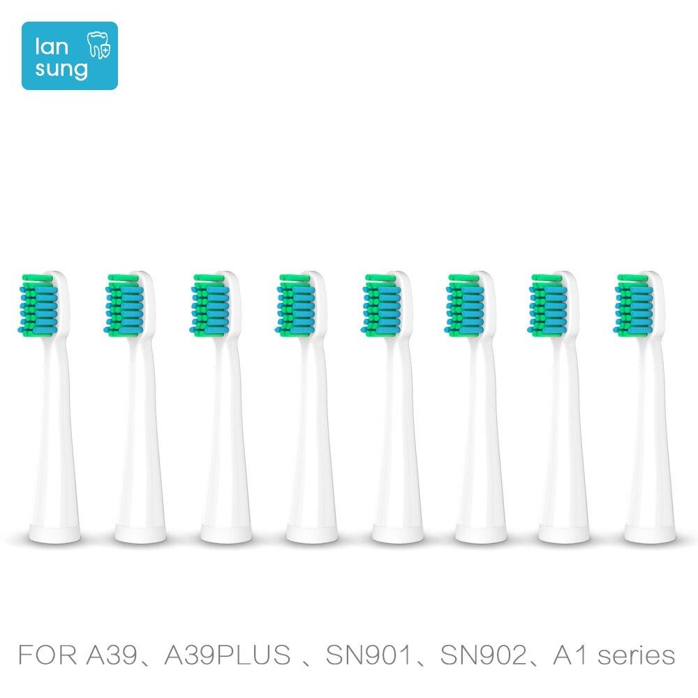 Têtes de brosse à dents Têtes de Rechange Pour Lansung U1 A39plus A1 Sn901 Sn902 Brosse à Dents Oral Hygiène brosse à dents électrique têtes 5