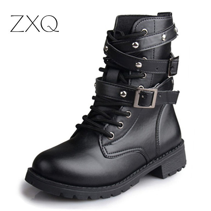 Popular Biker Boots Ladies-Buy Cheap Biker Boots Ladies lots from ...