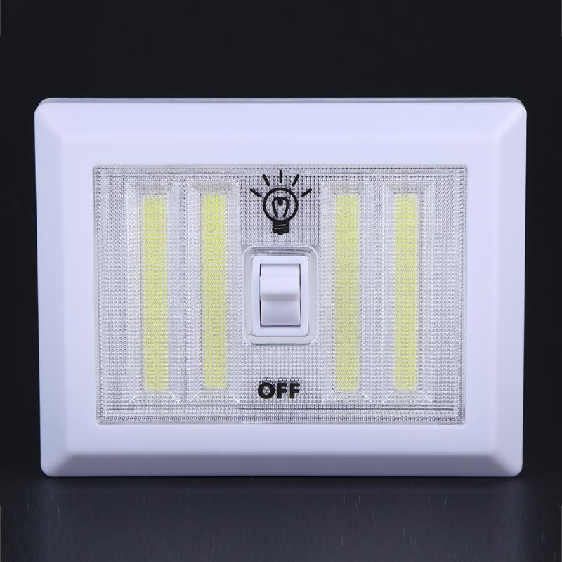 8W Magnetic LED Emergency Lights Outdoor Door Wall Lamp White Color Tent Night Light Battery Power Support