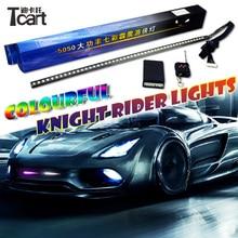 Tcart rgb 170 modelos à prova dwaterproof água 48smd 5050 highpower colorido led cavaleiro luzes com controle remoto sem fio
