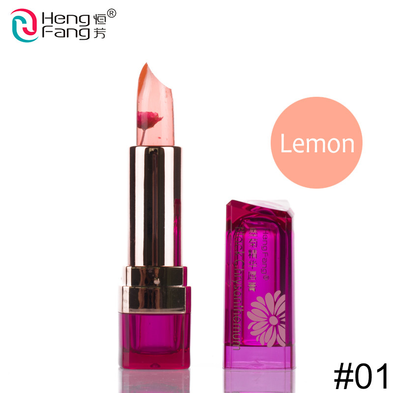 Temperature-changed Lipstick Lip Balm 7 Colors Lipbalm Nutritious Lips 3.5g Makeup Brand HengFang #H9223-H9266 1