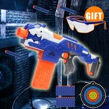 airsoft pistol font b Toy b font Gun with target Air Hole Foam gun font b