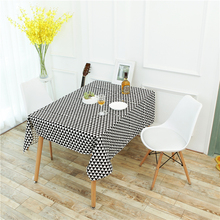 High quality Linen thicken Table triangle Tablecloth Cloth table cover  cotton table cover for table Home Textile party