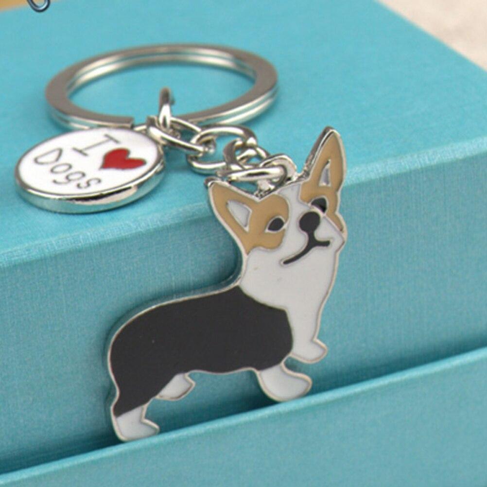 FEELMEM Corgi Dog Zipper Cute Corgi Dog Pendant Clip On Charm Animal Jewelry Corgi Gift For Pet Lover Corgi Mom Puppy Mom