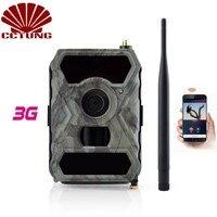 3G мобильный Trail Камера с 12MP изображения HD фотографии и 1080 P изображения видео Запись с бесплатным приложением дистанционного Управление IP54 В