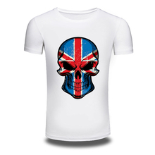 DY 116 Skull 3D Printed T font b shirts b font font b Men s b