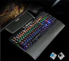 104 Механическая игровая клавиатура Радуга с подсветкой большие наручные Подушка nkrollover двойной выстрел колпачки ярлык