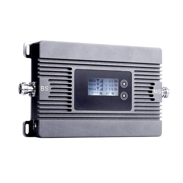 US $140 8 20% OFF|500 sqm ATNJ 4G LTE 2600MHz Cellular Signal Booster 80dB  FDD 4G 2600MHz Moblie phone Signal repeater Smart 4G repeater Full Set-in