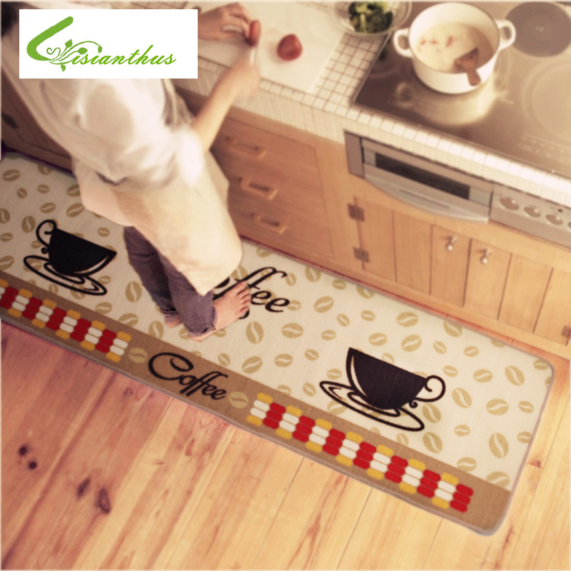 Big Szie /1PCS Mat Doormat Non-Slip Kitchen Carpet/Bath Mat Home Entrance Floor Mat Hallway Area Rugs Kitchen Non-Slip Mat