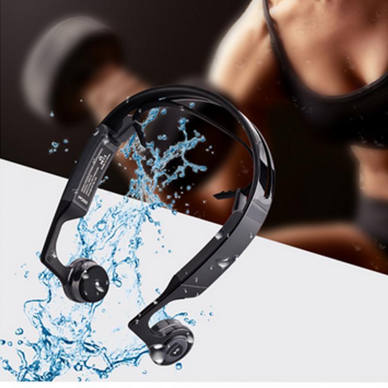 bilder für Mix8 offenen-ear bone leitung kopfhörer bluetooth v4.1 drahtlose sport headset
