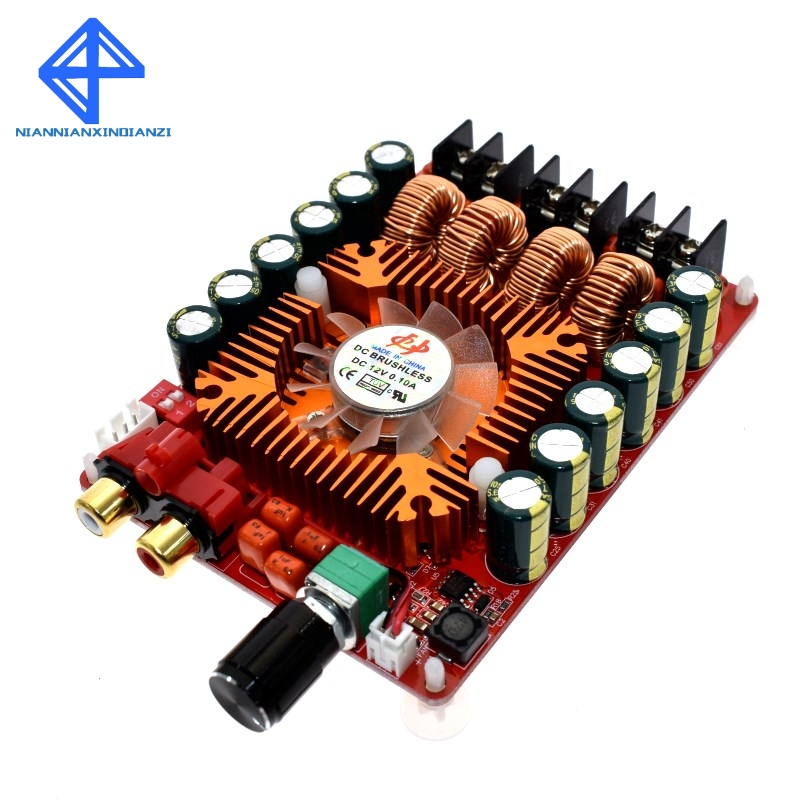 freeshipping TDA7498E 2 X 160W BTL220W mono power digital stereo amplifier AMP board Dual Channel Audiofreeshipping TDA7498E 2 X 160W BTL220W mono power digital stereo amplifier AMP board Dual Channel Audio