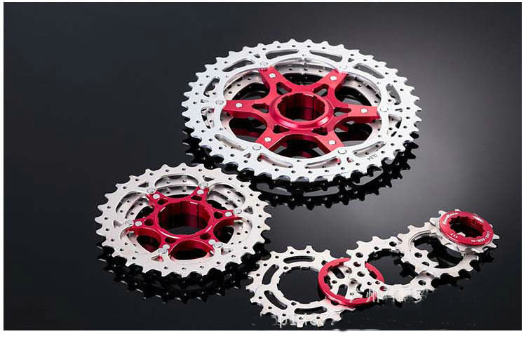 SunRace 10 Speed CSMX3 11 42T Bicycle Freewheel Wide Ratio bike Mountain Bicycle Cassette Tool MTB Flywheel Bike Parts in Bicycle Freewheel from Sports Entertainment