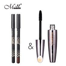 New Brand M.n Eyelashes Mascara Makeup Eyes Volume Longwearing Cosmetics 3D Fiber Lashes Lengthening Thick Curling Waterproof