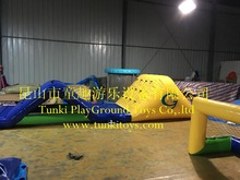 inflatable water obstacle course,inflatable floating water sports game