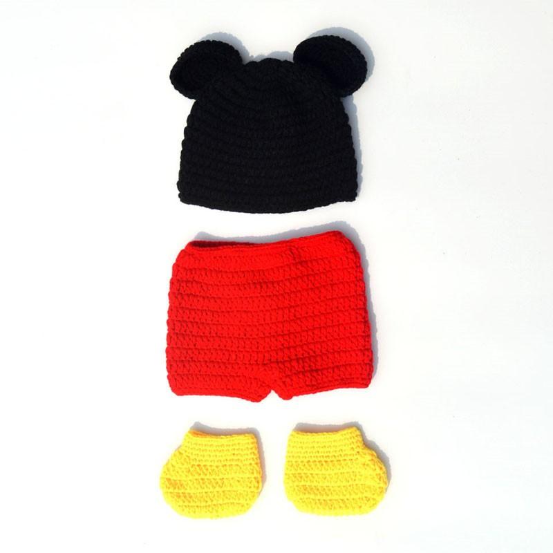 Neugeborenen Mickey Foto Requisiten Baby, Kleinkind Jungen Mickey ...