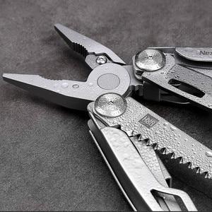 Image 2 - 원래 xiaomi mijia huohou 다기능 포켓 접는 나이프 420j2 스테인레스 스틸 블레이드 사냥 캠핑 생존 도구