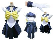 Anime Sailor Moon cosplay Tenoh Haruka/Sailor Uranus cos Halloween cartoon party Unisex Può essere personalizzato costumi cosplay