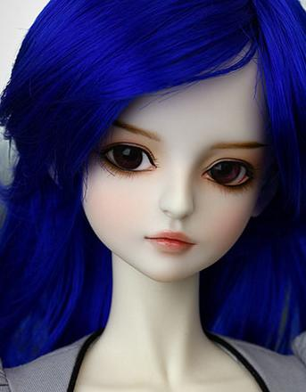 Free shipping !free makeup and eyes !  top quality 1/3 bjd doll girl Dod shall BlueFree shipping !free makeup and eyes !  top quality 1/3 bjd doll girl Dod shall Blue