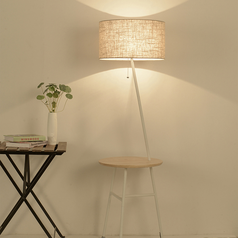 Floor lamp living room simple modern bedroom lamps eye for Modern floor lamps living room