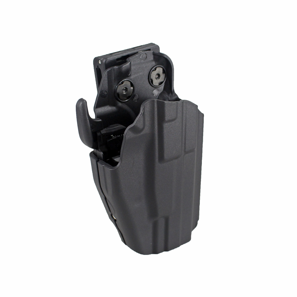 US $19 37 |Heavy Duty Tactical Handgun Holster Pistol Gun Holster for Glock  19 23 38 H&K 45 USP Ruger 9e-in Holsters from Sports & Entertainment on