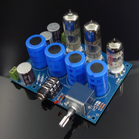 6H6N + ECC88 puro placa de amplificador valvulado bile Amplificador     -