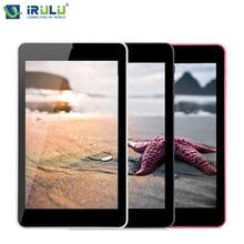 IRULU 2017 Оригинал eXpro 7 »Tablet Google Android 5.1 Allwinner Quad Core 16 Г ROM 800*1280 Двойная камеры 4000 мАч Wi-Fi Bluetooth