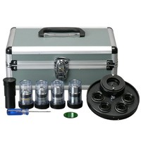AmScope Brightfield & Phase Contrast Kit for Microscopes PCT