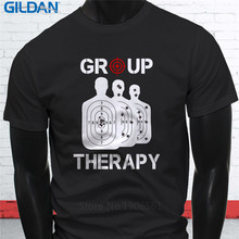 2017 New Fashion s Clever T Shirts Short Graphic Group Therapy O-Neck Tees For Men