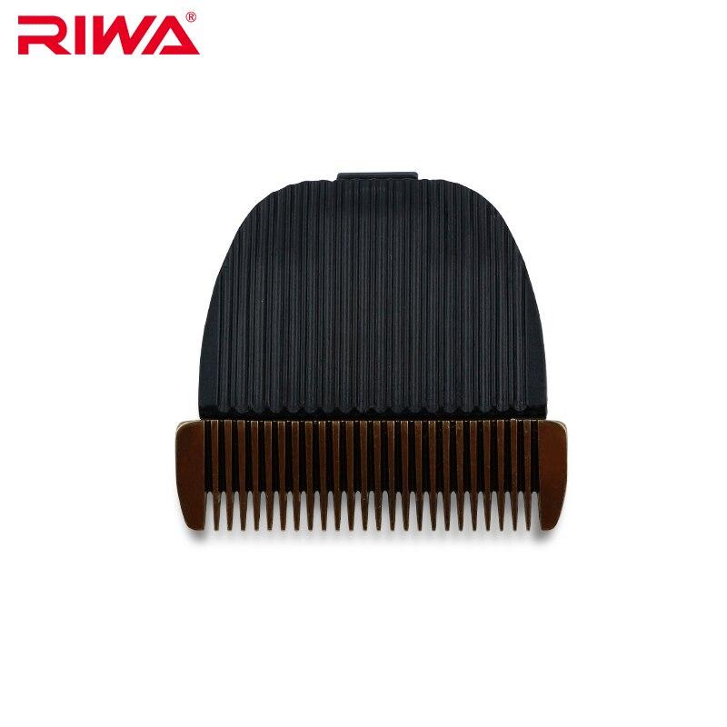 RIWA Confezione Originale di Titanio Lama di Ceramica Per Capelli Tagliatore di X9