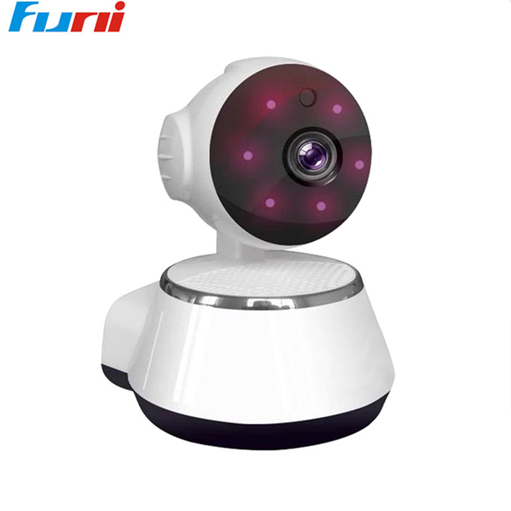 Funi 720P HD IP Cam Wi-fi Home Security IP Camera Wireless Mini Surveillance Camera Baby Monitor Wifi Night Vision CCTV Camera gakaki hd ip camera wi fi wireless mini network cameras surveillance home security wifi 720p night vision cctv cam baby monitor