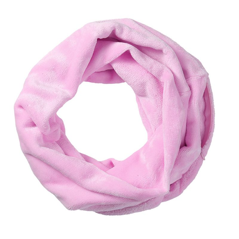 Womens Solid Color Infinity Fashion   Scarves     Wrap   Hidden Zipper Pocket ,Travel   Scarf