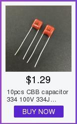 10pcs CSP 104J 630V 100NF 0.1UF P10mm Metallized Film Capacitor SP