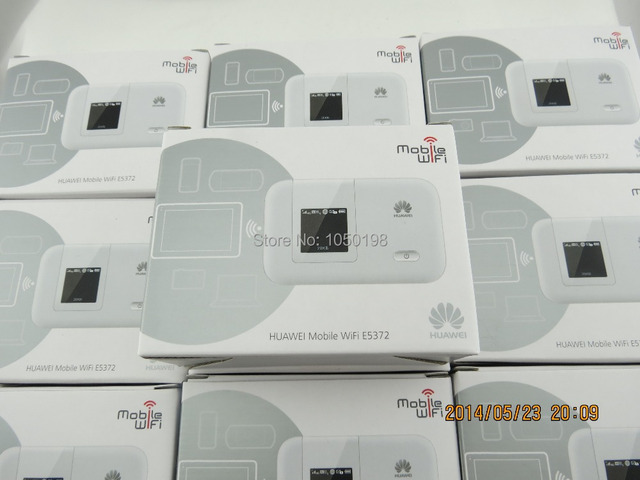 2014 New Arrival Original Unlock LTE-FDD 150Mbps HUAWEI E5372 LTE 4G Router  +a pc free TS-9 antenna